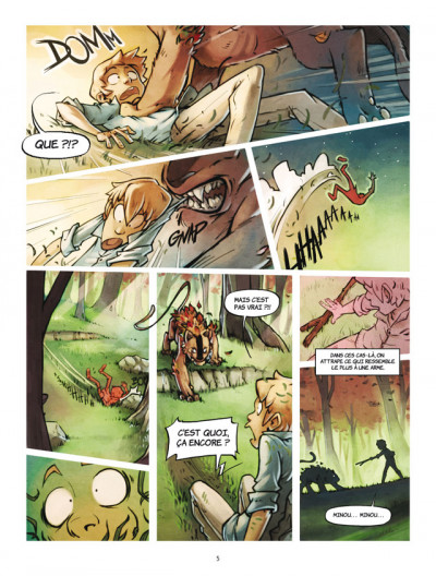 Page 3 Powa tome 3 - rivière