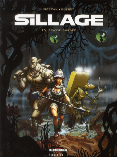 Couverture Sillage tome 15