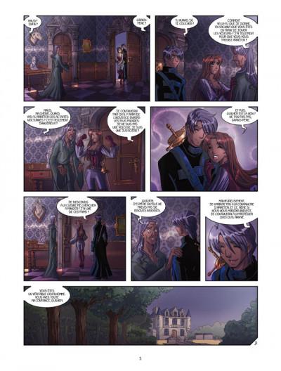Page 3 La rose écarlate tome 7