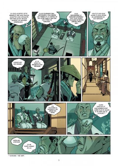 Page 3 Okko tome 7 - le cycle de feu tome 1/2