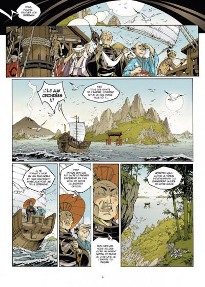 Page 4 Okko tome 7 - le cycle de feu tome 1/2