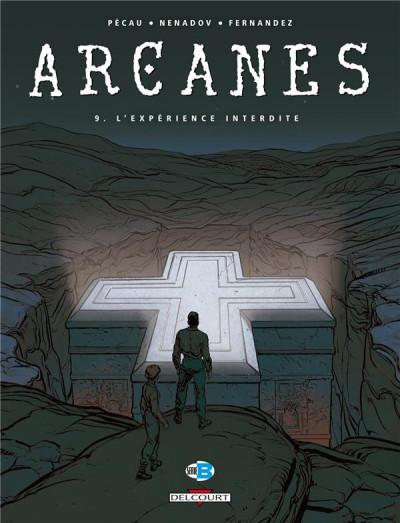 Couverture arcanes tome 9 - l'expérience interdite