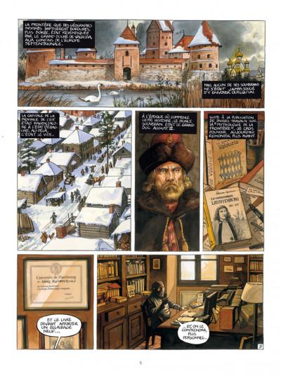 Page 3 le royaume de Borée tome 1 - Oktavius