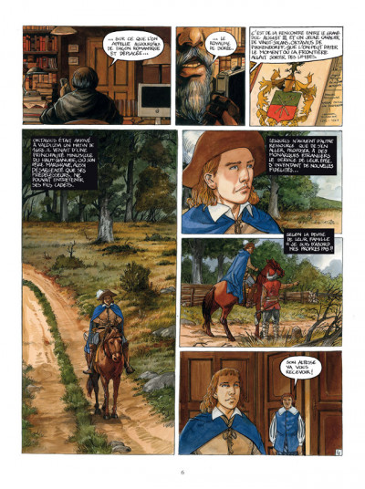 Page 4 le royaume de Borée tome 1 - Oktavius