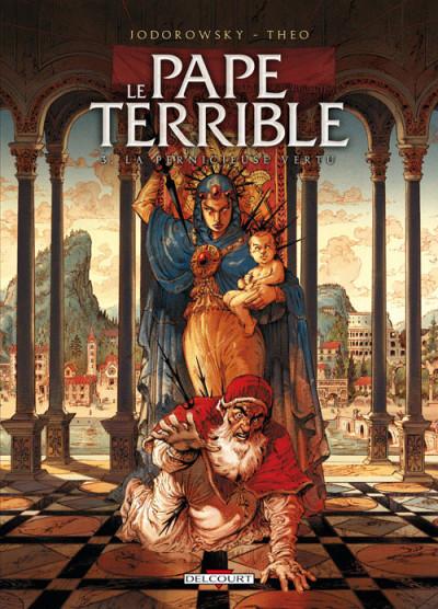 Couverture Le pape terrible tome 3