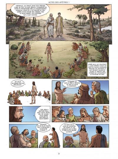 Page 1 la bible, le nouveau testament - les actes des apôtres tome 1