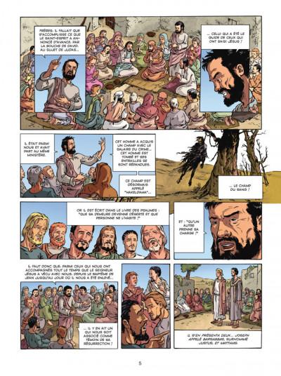 Page 3 la bible, le nouveau testament - les actes des apôtres tome 1