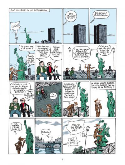Page 1 la nouvelle bande des Pieds Nickelés tome 3 - expulsés volontaires