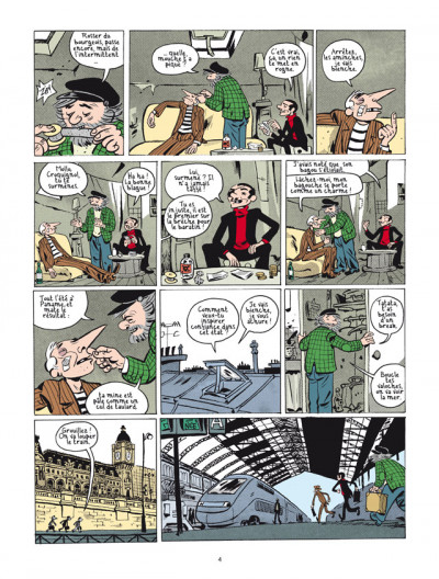 Page 2 la nouvelle bande des Pieds Nickelés tome 3 - expulsés volontaires