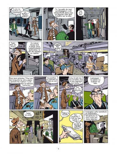 Page 3 la nouvelle bande des Pieds Nickelés tome 3 - expulsés volontaires