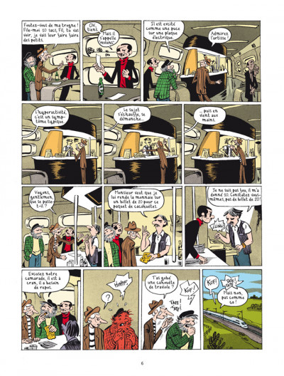 Page 4 la nouvelle bande des Pieds Nickelés tome 3 - expulsés volontaires