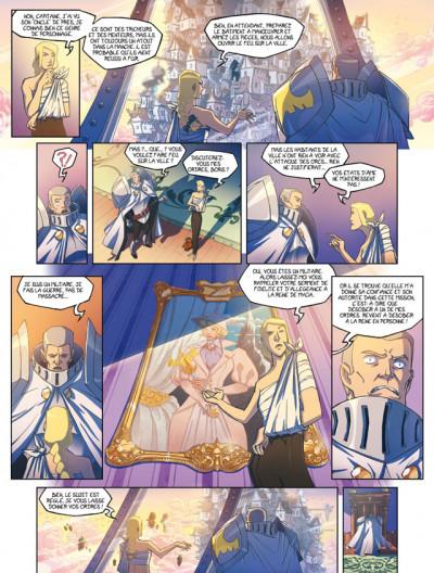 Page 3 azur tome 2 - l'oiseau sacré