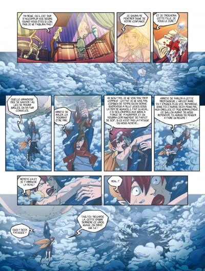 Page 4 azur tome 2 - l'oiseau sacré
