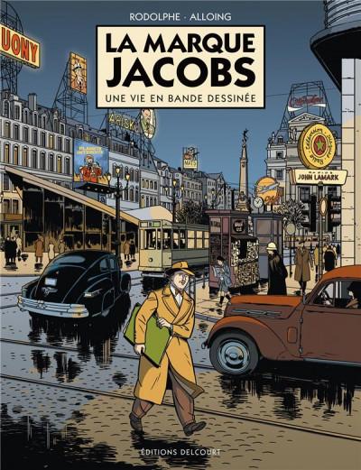 image de la marque Jacobs ; une vie en bande dessinée