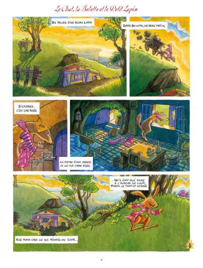 Page 4 La fontaine aux fables - intégrale