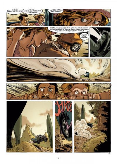 Page 3 le droit chemin tome 2 - la nuit de la goule