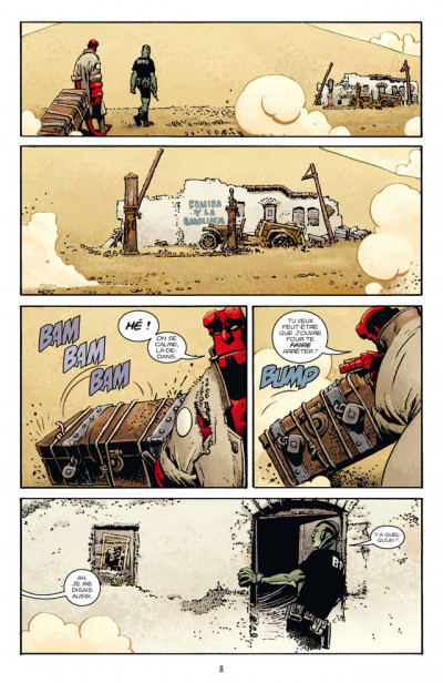 Page 2 Hellboy T.12 - la fiancée de l'enfer