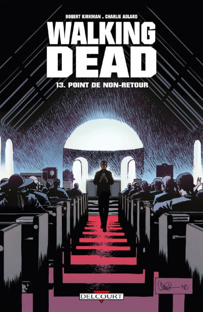 Couverture walking dead tome 13 - point de non-retour