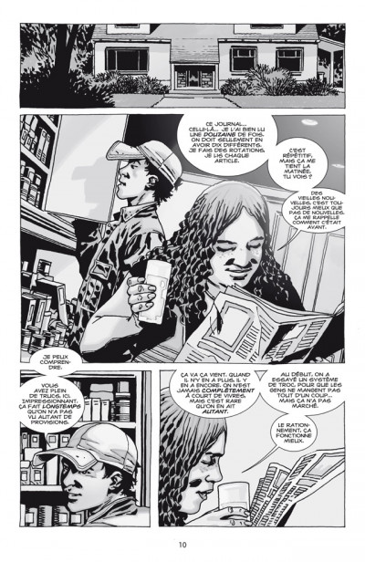 Page 4 walking dead tome 13 - point de non-retour