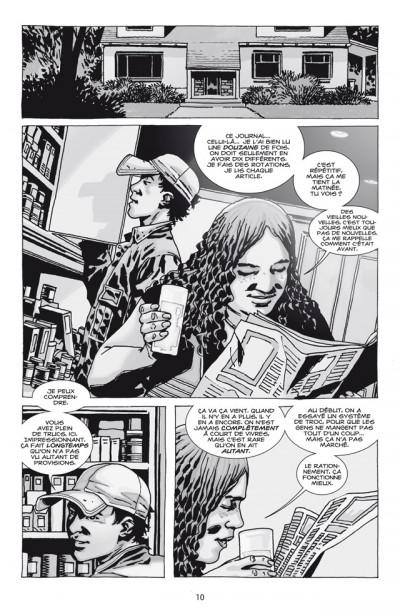 Page 4 walking dead T.13 - point de non-retour