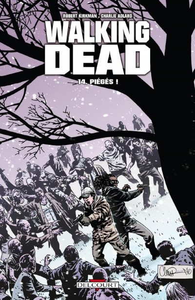 Couverture walking dead T.14 - piégés !