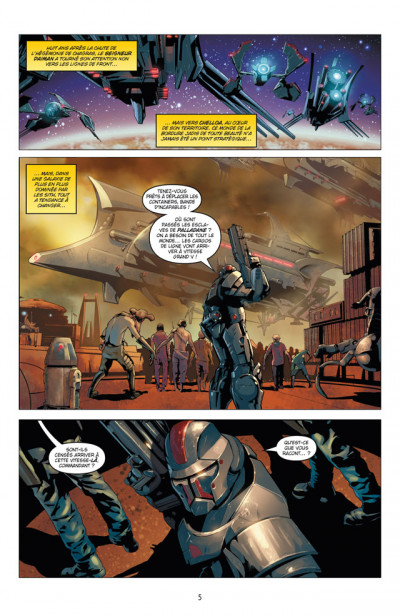 Page 1 Star Wars - chevalier errant tome 1 - ignition