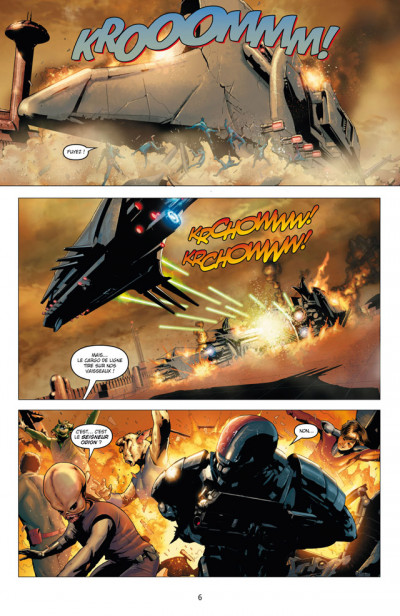 Page 2 Star Wars - chevalier errant tome 1 - ignition