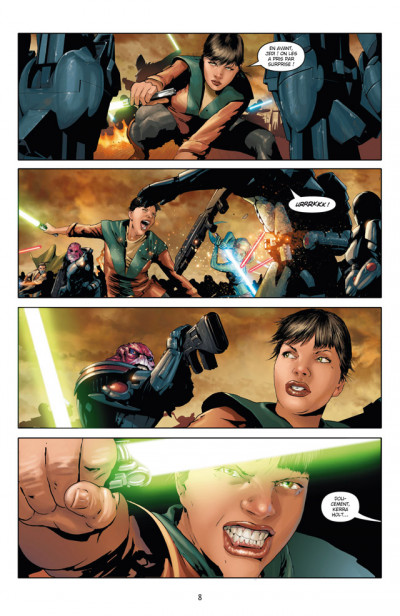 Page 4 Star Wars - chevalier errant tome 1 - ignition