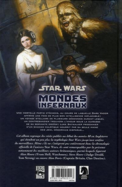 Dos star wars ; mondes infernaux
