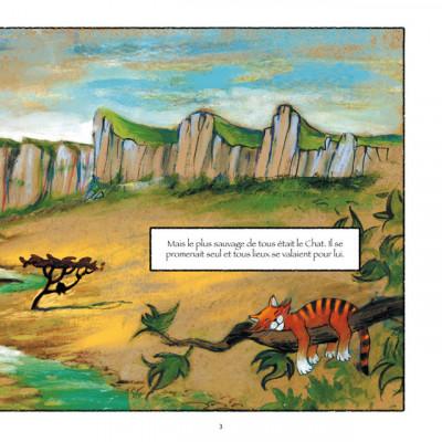 Page 3 le chat qui s'en va tout seul
