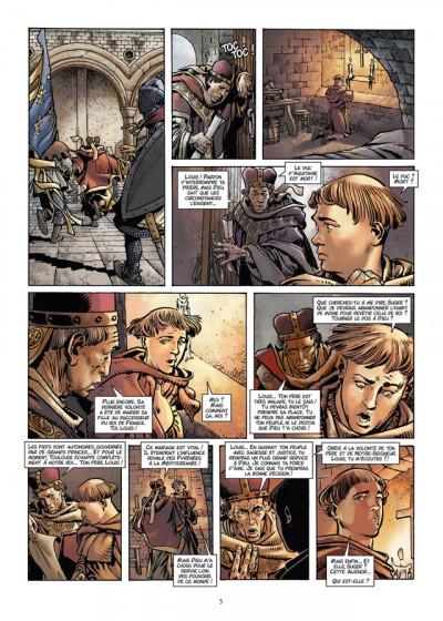 Page 3 les reines de sang tome 1 - Aliénor, la légende noire