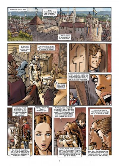 Page 4 les reines de sang tome 1 - Aliénor, la légende noire