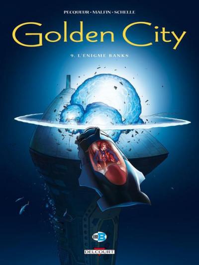 Couverture Golden City T.9 - l'énigme Banks