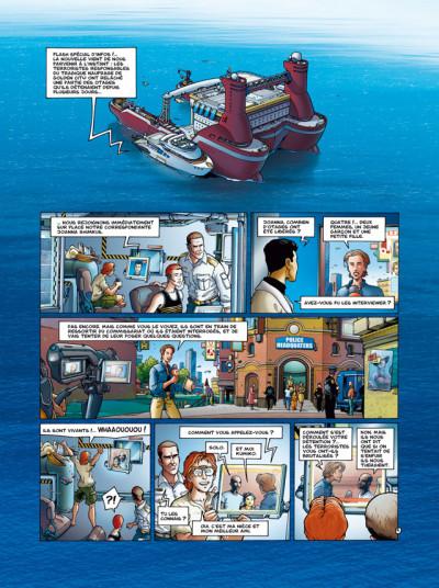 Page 1 Golden City T.9 - l'énigme Banks