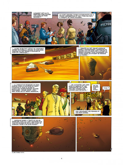 Page 2 Golden City T.9 - l'énigme Banks