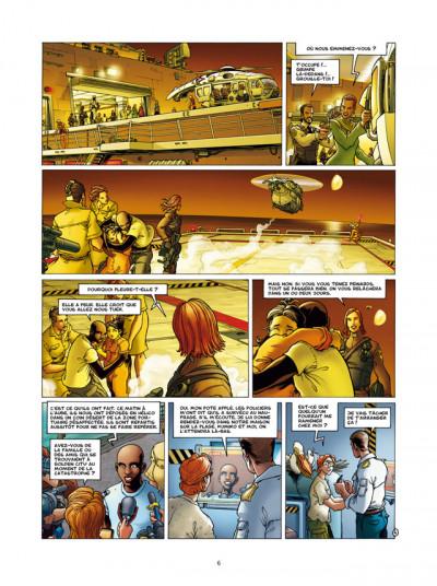 Page 4 Golden City T.9 - l'énigme Banks