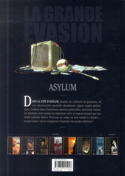 Dos La Grande Évasion tome 6 - Asylum