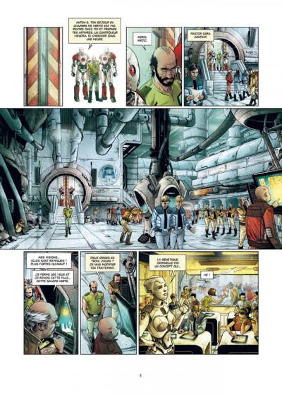 Page 1 La Grande Évasion tome 6 - Asylum