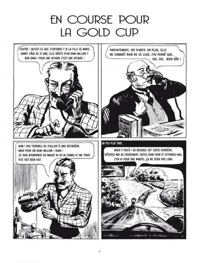 Page 1 Gwendoline tome 2 - en course pour la Gold Cup et autres raretés