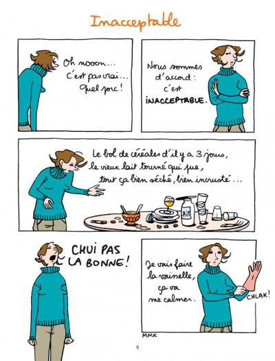 Page 4 Gloria tome 2 - Gloria cherche l'équilibre