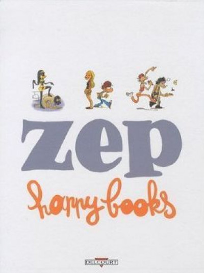 Couverture Happy books - coffret