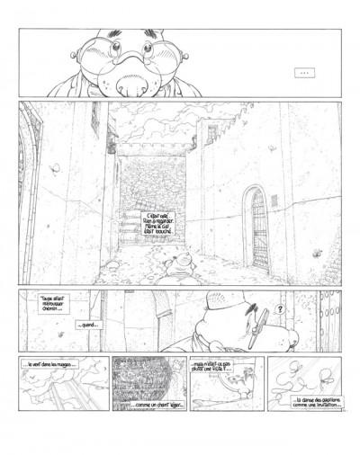 Page 3 le vent dans les sables - les crayons tome 2