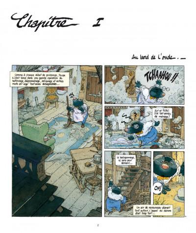 Page 1 le vent dans les saules tome 1 - le bois sauvage (édition 2011)