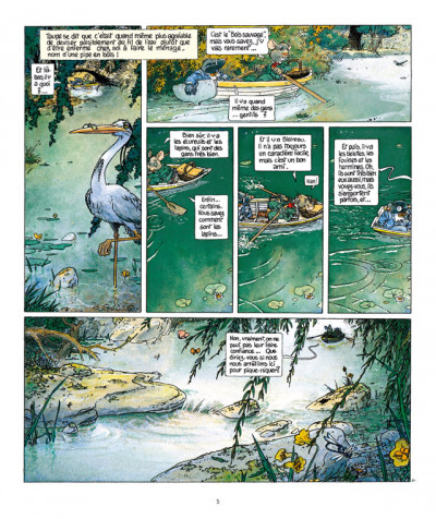 Page 4 le vent dans les saules tome 1 - le bois sauvage (édition 2011)