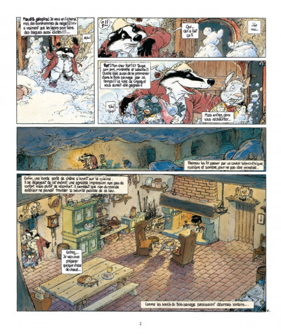 Page 2 le vent dans les saules tome 2 - auto, crapaud, blaireau (édition 2011)