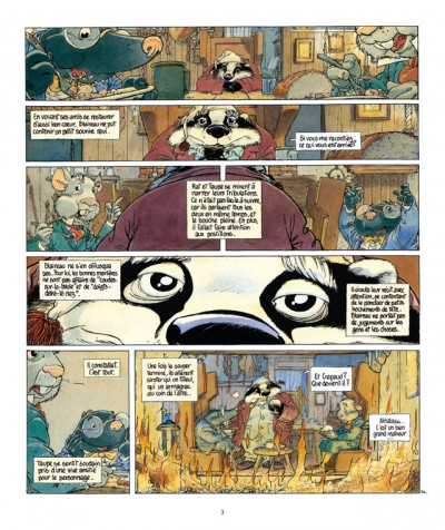 Page 3 le vent dans les saules tome 2 - auto, crapaud, blaireau (édition 2011)