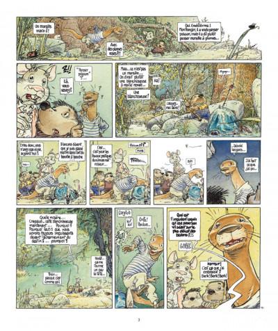 Page 3 le vent dans les saules tome 4 - foutoir au manoir (édition 2011)