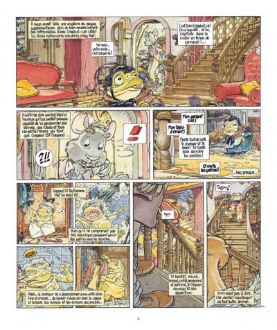 Page 4 le vent dans les saules tome 4 - foutoir au manoir (édition 2011)