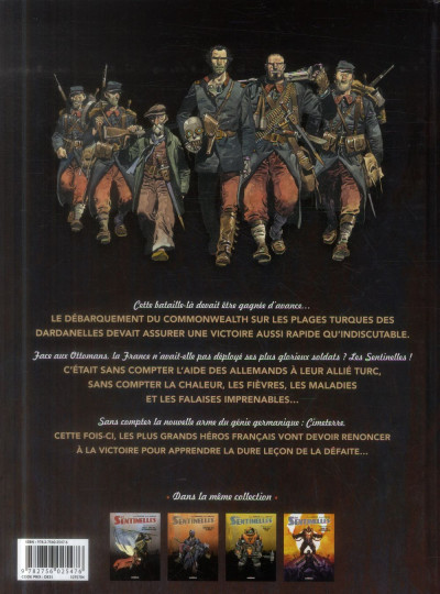 Dos Les Sentinelles tome 4 - Les Dardanelles