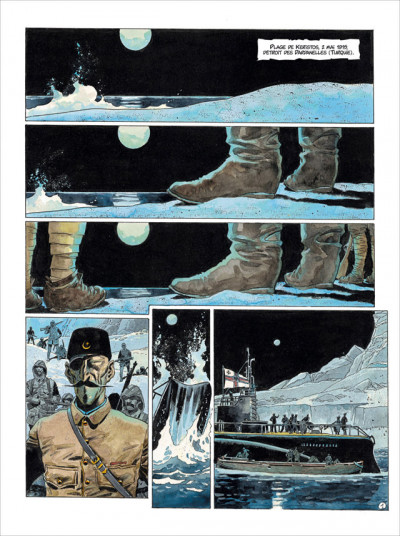 Page 1 Les Sentinelles tome 4 - Les Dardanelles